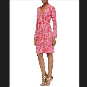 Diane von Furstenberg New Jeanne Two Wrap Dress 8